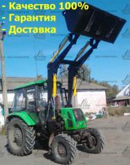 Фронтальний навантажувач на МТЗ, ЮМЗ