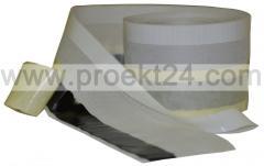 Паропроницаемая оконная лента 150мм*25м (наружная,