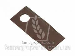 Нож роторной косилки AGV 108x50x4  Pöttinger 434971