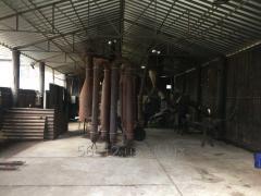 Press for briquetting