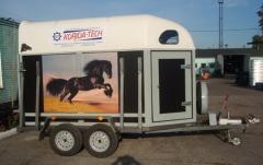 Прицеп батман для перевозки лошадей КРД-050112