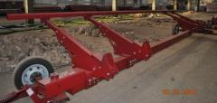 The cart for corn headers Geringof, Case, John Deere