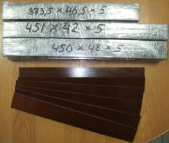 Лопатки к компрессору ВР8/2,5 ; ВР8/2,2 ; ВР7/2,2