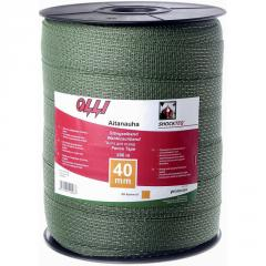 Зеленая многожильная лента Shockteq 20мм/200м