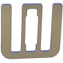 Соединитель для лент шириной 10-12 мм