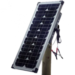 The solar panel in a set of Olli 20 W