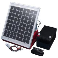 The solar panel in a set for Olli 30B and 70B