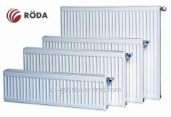 Радіатор Rӧda стальний панельний боковий тип підключення 22 разм 500х2400