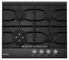 Cooking surface of 6220/19 FFD (Black Glass+Black