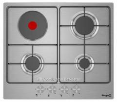 Cooking surface of 6630 (Inox Combi 3+1)