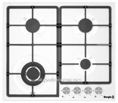 Cooking surface of 6741/17 (White Enamelled)