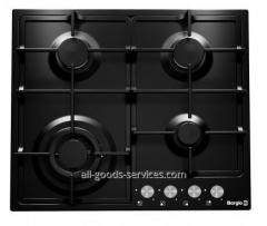 Cooking surface of 6741/17 (Black Enamelled)