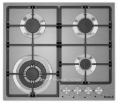 Cooking surface of 6741/17 (Inox)