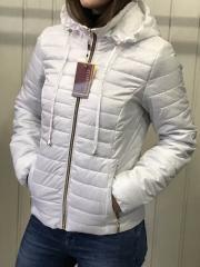 Spring women's jacket, D2 model, color white