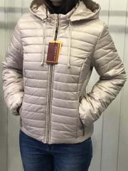 Spring women's jacket, D2 model, color beige
