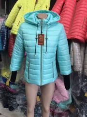 Куртка женская весенняя, модель Довяз, цвет мята