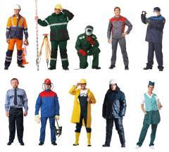 Пошиття спецодягу для різних різних робочих груп
