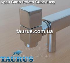 Кран квадратный угловой Carlo Poletti Cube-Easy