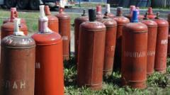 Закупаем бытовые газовые баллоны в Крыму