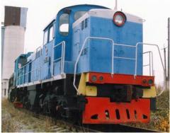 Запчасти к подвижному составу железнодорожного