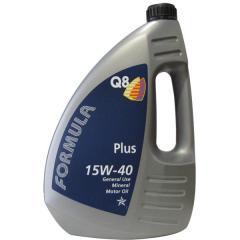 Масло моторное ( 4л ) минер. (Q8 Form. Plus) (API: SL/CF) (ACEA:A2/B2/A3/B3)