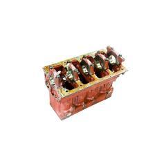 Блок цилиндров Д-245-06 МТЗ-1025 (3 втулки р/вала) (пр-во ММЗ)