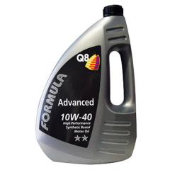 Масло моторное ( 4л ) полусинт. (Q8 Form. Advanced) (API: SL/CF) (ACEA:A3/B3/B4)
