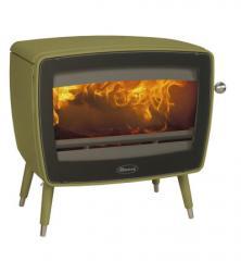 Cast iron stove Dovre Vintage 50 TB/E9 olive green