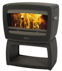 Cast iron stove Dovre Vintage 50 WB/E10 glossy black