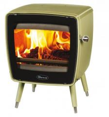 Cast iron stove Dovre Vintage 35/E9 olive green