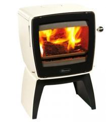 Cast iron stove Dovre Vintage 35 TB/E12 white