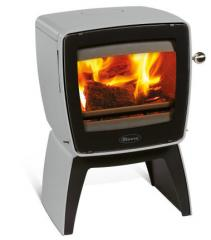 Cast iron stove Dovre Vintage 35 TB/E14 light grey