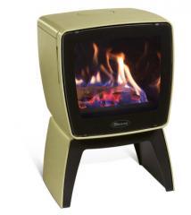Cast iron stove Dovre Vintage 35 TB/E9 olive green