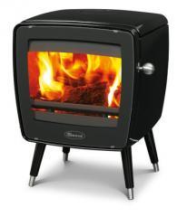 Cast iron stove Dovre Vintage 35/Å glossy black
