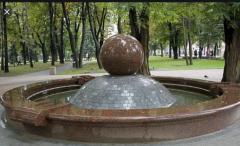 Fountains from granite