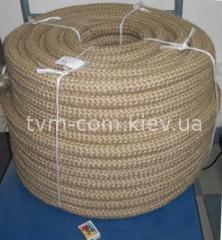 Канат плетеный капрон/опл.ПП от ф26 мм