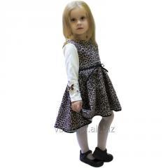 Set for girls a sundress + a jumper, model