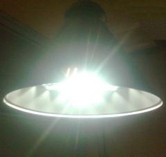 LED dome lamp 120 of W (11800lyum, D =630mm, 7 kg,