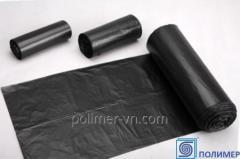 Les paquets de polyéthylène