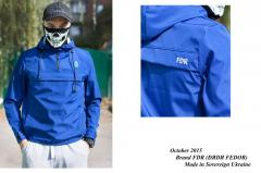 Anorak Uncle Fedor blue