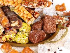 المكملات الغذائية لإنتاج الحلويات