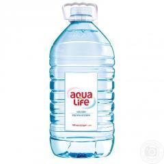 Вода Аква Лайф негазированная пластиковая бутылка