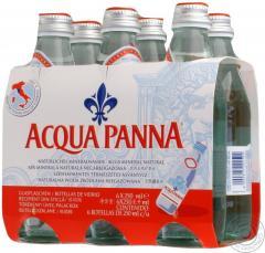 Вода Аква Панна негазированная стеклянная бутылка