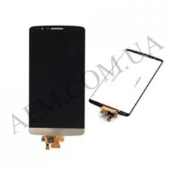 Дисплей (LCD) LG D855/  D858/  D859 Optimus G3 с сенсором золотой оригинал