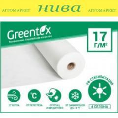 Агроволокно Белое 17г/м 1, 6*100м Greentex