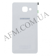 Задняя крышка Samsung A510F Galaxy A5/  A510FD/  A510M/  A510Y/  A5100 (2016) белая