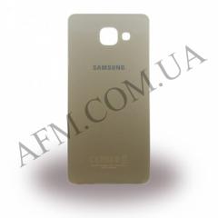 Задняя крышка Samsung A510F Galaxy A5/  A510FD/  A510M/  A510Y/  A5100 (2016) золотистая
