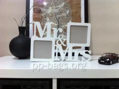 Фоторамка Mr & Mrs