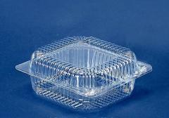Блистерная упаковка для салатов и кондитерских изделий.