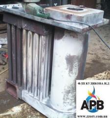 Изготовление и ремонт теплообменников...